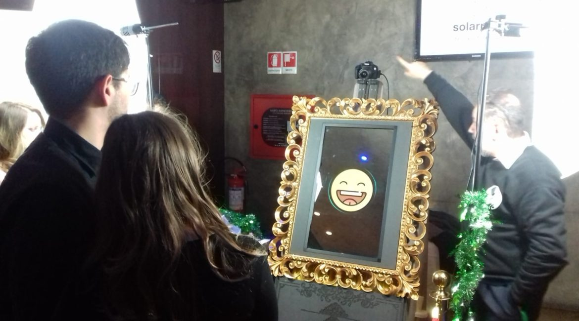 solar play eventare hi tech mirror event